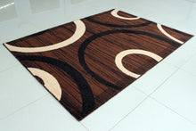 E528 Brown Area Rug - Rug Tycoon