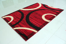 E528 Red Area Rug - Rug Tycoon