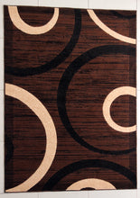 E528 Brown Area Rug
