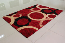 E532 Red Area Rug - Rug Tycoon