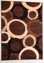 E532 Brown Area Rug