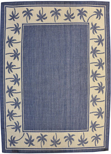H07 Navy Blue Area Rug - Rug Tycoon
