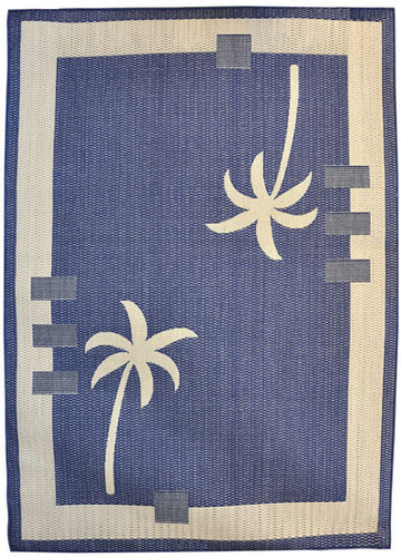 H09 Navy Blue Area Rug - Rug Tycoon