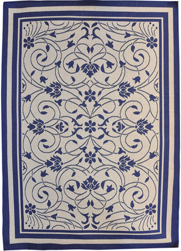 H11 Navy Blue Area Rug - Rug Tycoon