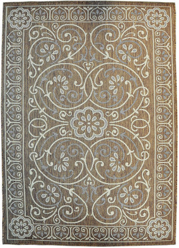 H14 Brown Area Rug - Rug Tycoon