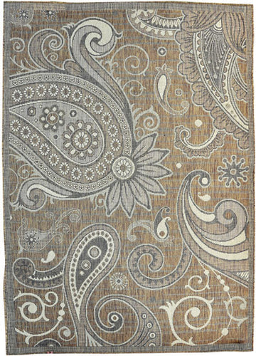 H16 Brown Area Rug - Rug Tycoon