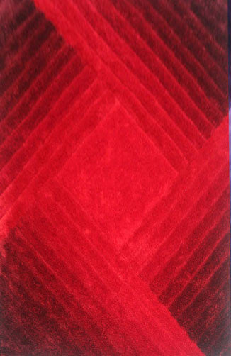 IS3 Red Area Rug - Rug Tycoon