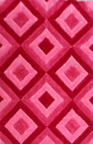 IS7 Pink Area Rug - Rug Tycoon