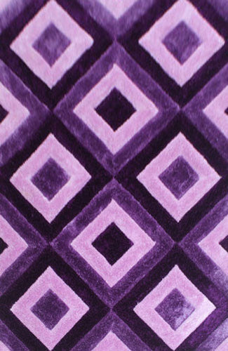 IS7 Purple Area Rug - Rug Tycoon