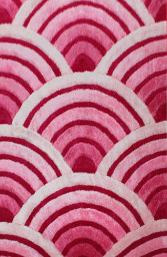 IS8 Pink Area Rug - Rug Tycoon