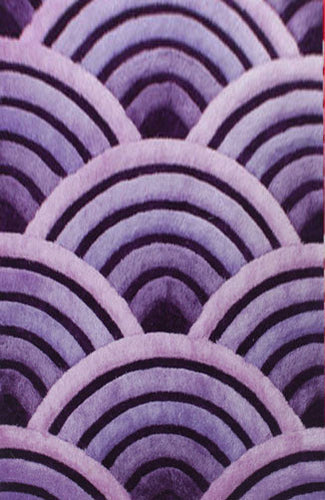 IS8 Purple Area Rug - Rug Tycoon