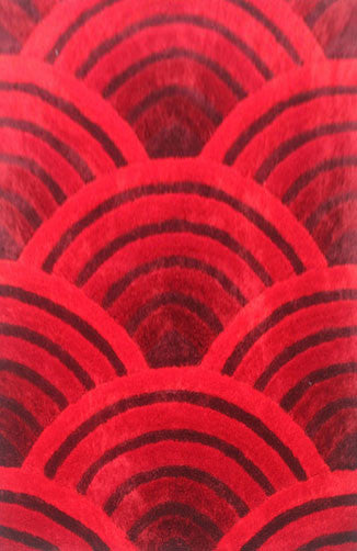 IS8 Red Area Rug - Rug Tycoon