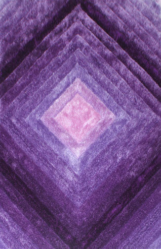 IS9 Purple Area Rug - Rug Tycoon