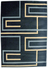 J701 Dark Blue Area Rug