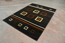 J702 Brown Area Rug - Rug Tycoon
