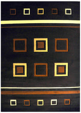 J702 Brown Area Rug