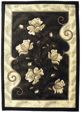 J710 Brown Area Rug