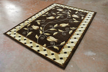 J711 Brown Area Rug - Rug Tycoon