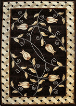 J711 Brown Area Rug