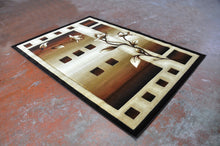 J712 Brown Area Rug - Rug Tycoon