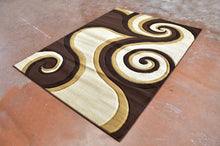 J723 Brown Area Rug - Rug Tycoon
