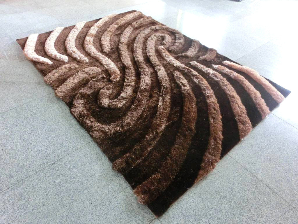 N6 Brown Area Rug - Rug Tycoon