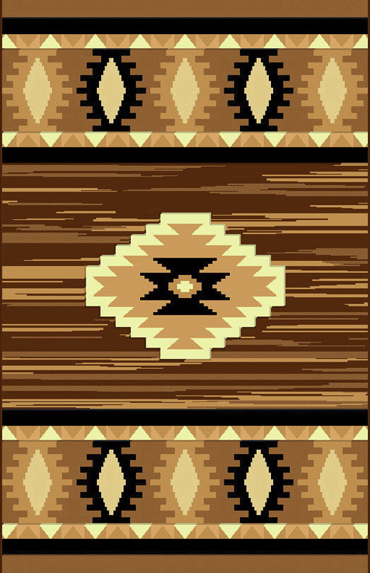 NS1 Brown Area Rug - Rug Tycoon