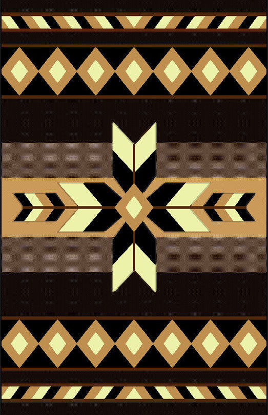 NS2 Black Area Rug - Rug Tycoon