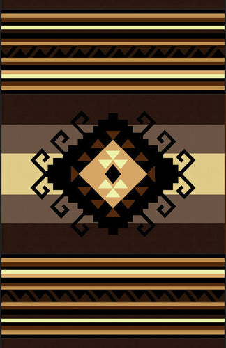 NS4 Black Area Rug - Rug Tycoon