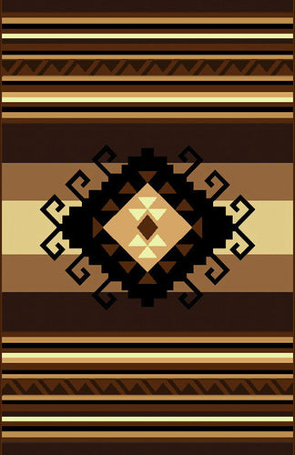 NS4 Brown Area Rug - Rug Tycoon