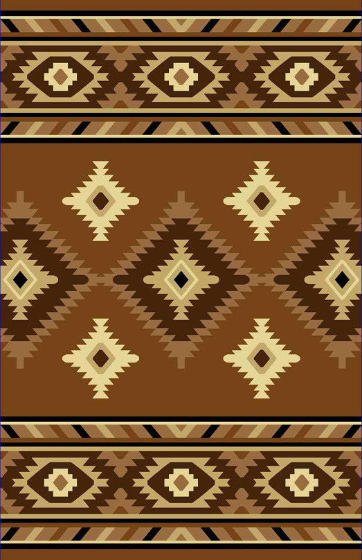 NT2 Brown Area Rug - Rug Tycoon