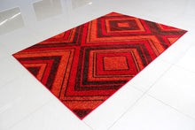 PRT1602 Red Area Rug - Rug Tycoon