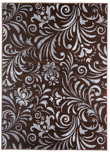 Brown/Gray Area Rug - Rug Tycoon