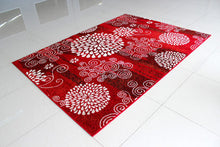 PRT1607 Red Area Rug - Rug Tycoon