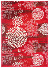 PRT1607 Red Area Rug