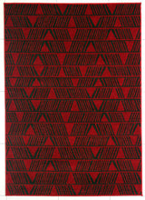 PRT1609 Red Area Rug