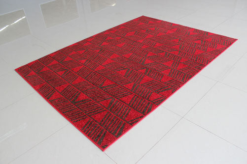 PRT1609 Red Area Rug - Rug Tycoon
