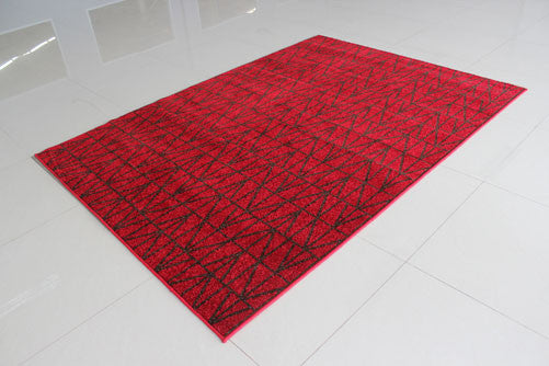 PRT1610 Red Area Rug - Rug Tycoon
