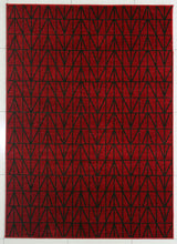 PRT1610 Red Area Rug