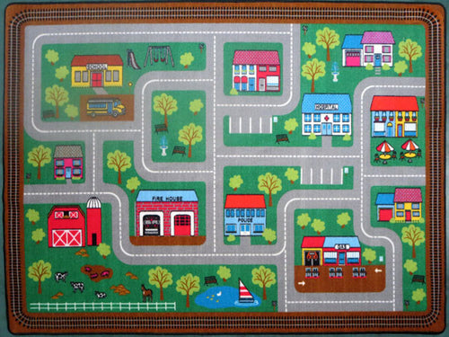 PT03 Green Area Rug