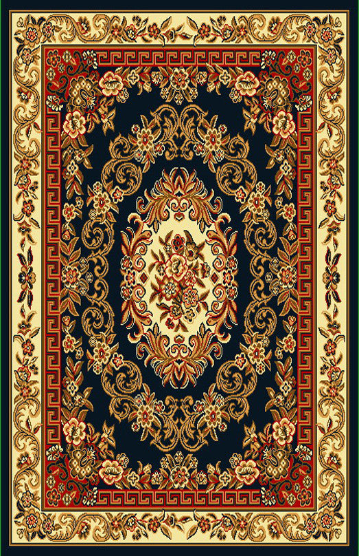 R401 Black Brown Area Rug - Rug Tycoon
