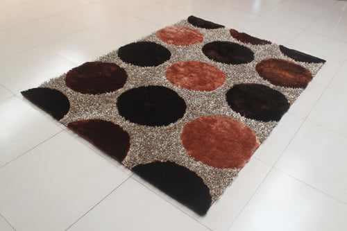 Rosalida Brown Area Rug