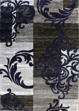 SH101 Grey Blue Area Rug