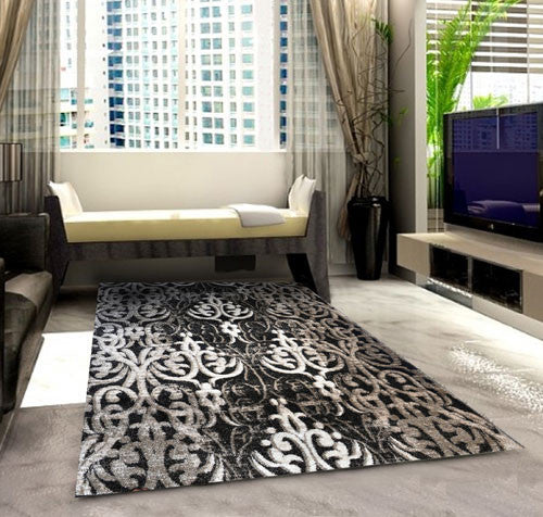 SH102 Brown Area Rug - Rug Tycoon