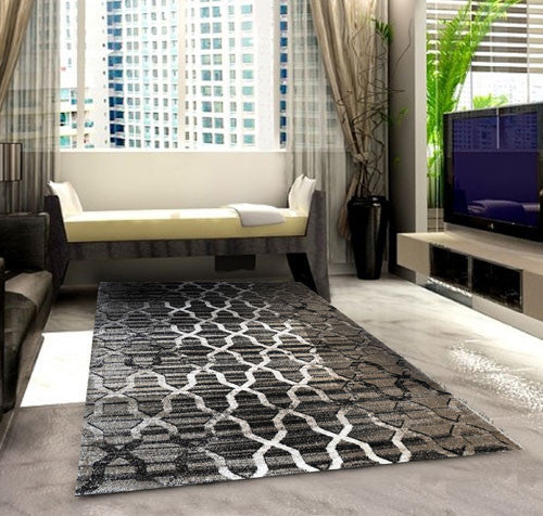 SH103 Brown Area Rug - Rug Tycoon