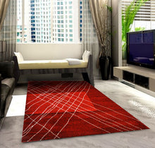 SH105 Red Area Rug - Rug Tycoon