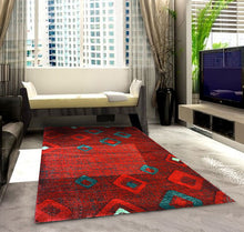 SH106 Red Area Rug - Rug Tycoon