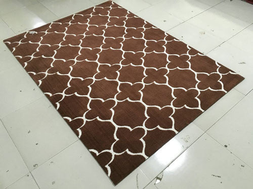 SL4001 Brown Area Rug - Rug Tycoon