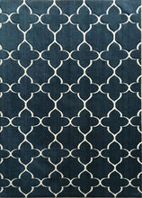 SL4001 Navy Blue Blue Area Rug