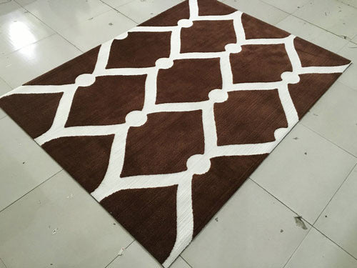SL4002 Brown Area Rug - Rug Tycoon
